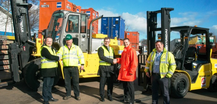 Cape chooses Hyundai forklifts for its Aberdeen offshore operations