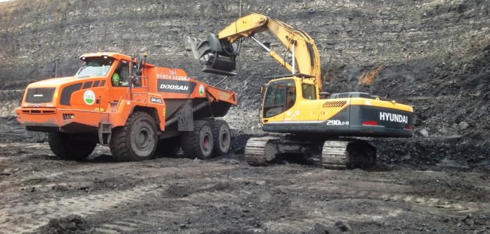 Hyundai machines clock up 40,000 hours at Scottish colliery and are still going strong…
