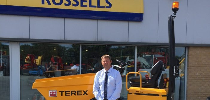 Russell Group Joins Terex Construction's UK Distributor Network