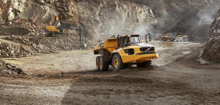 Volvo's biggest articulated hauler confirmed for Hillhead 2016