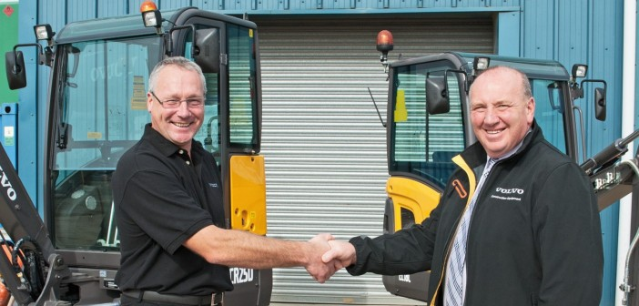 Volvo CE appoints CS Machinery Sales Ltd as its new utility equipment dealer in the North of Scotland