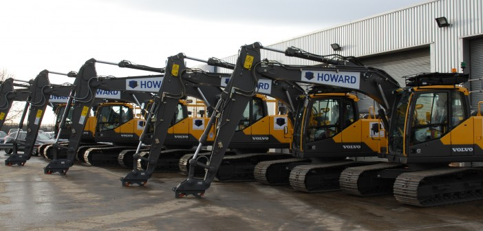 Howard Plant Hire shifts up a gear with Volvo.