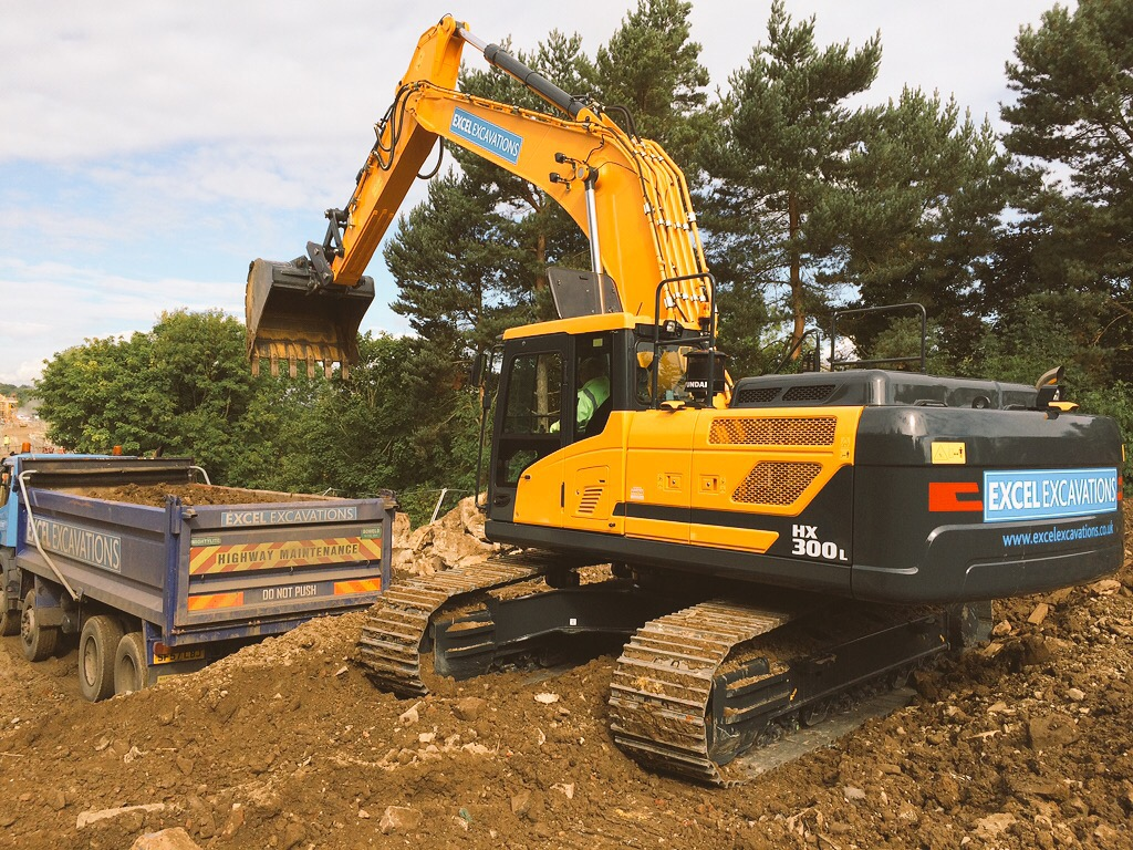 Excel Excavations Take Delivery Of The First Hyundai Hx300